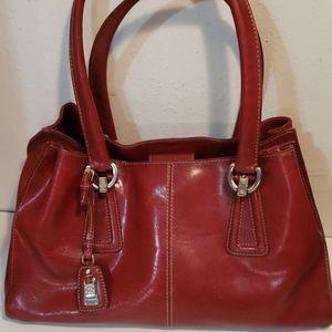 Red Liz Claiborne Handbag